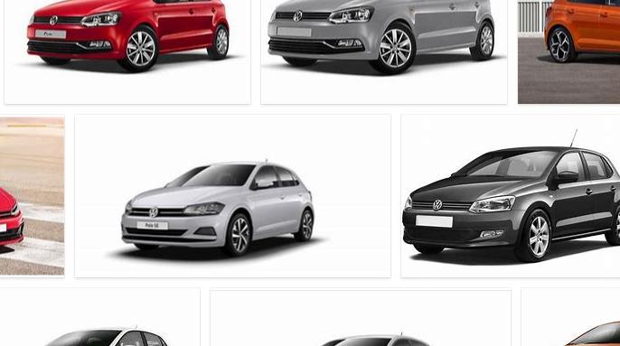 Volkswagen Polo Colors
