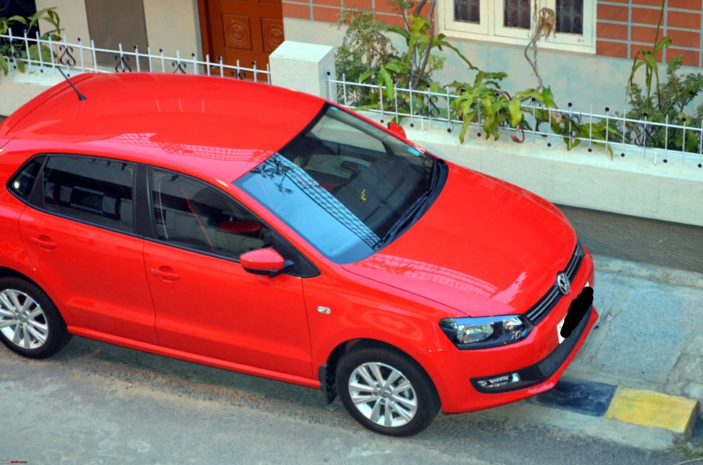 Volkswagen Polo Flash Red