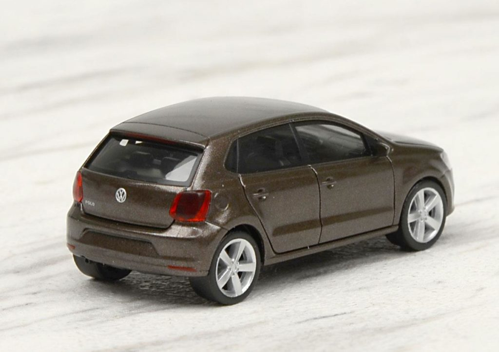 Volkswagen Polo Toffee Brown