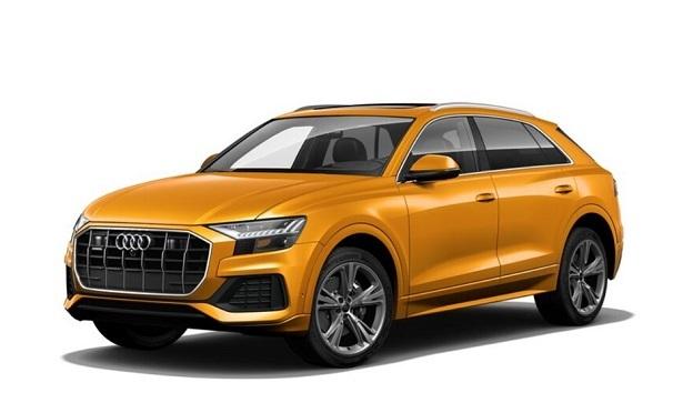 Audi Q8 Dragon Orange Metallic