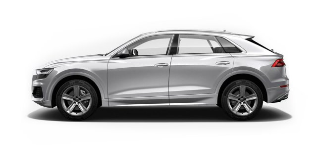 Audi Q8 Floret Silver Metallic