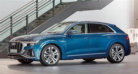 Audi Q8 Galaxy Blue Metallic