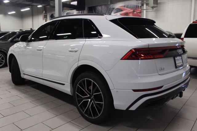 Audi Q8 Glacier White Metallic