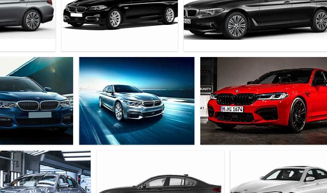 BMW 5 Colors