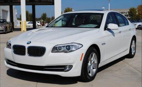 BMW 5 Sedan Alpine White