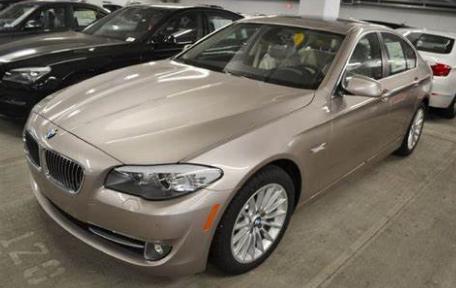 BMW 5 Series Sedan Cashmere Silver