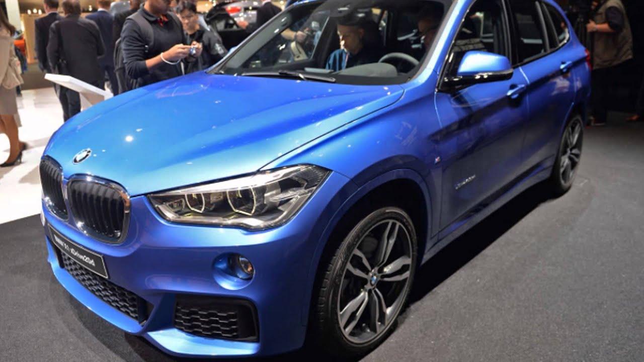 BMW X1 Mediterranean Blue