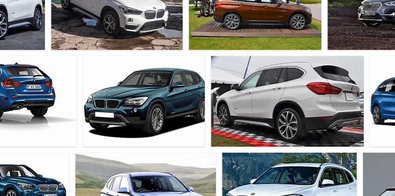 BMW X1 colors