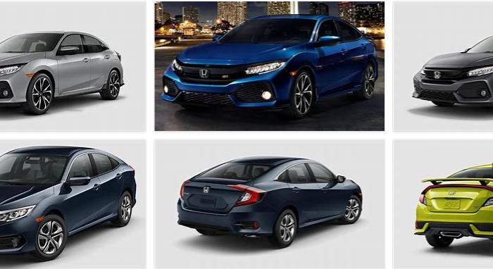 Honda Civic Colors