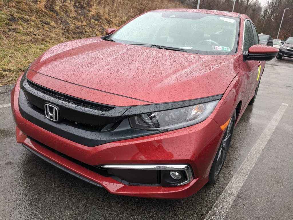 Honda Civic Molten Lava Pearl