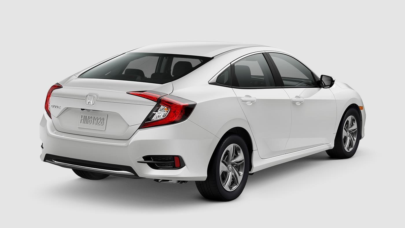 Honda Civic Platinum White Pearl