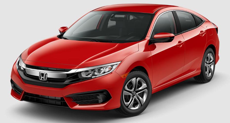 Honda Civic Rallye Red