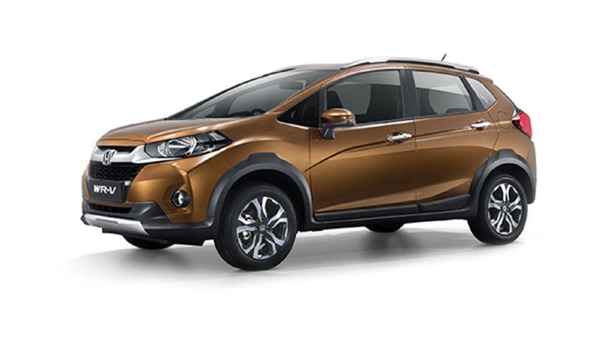 Honda WR-V Premium Amber Metallic