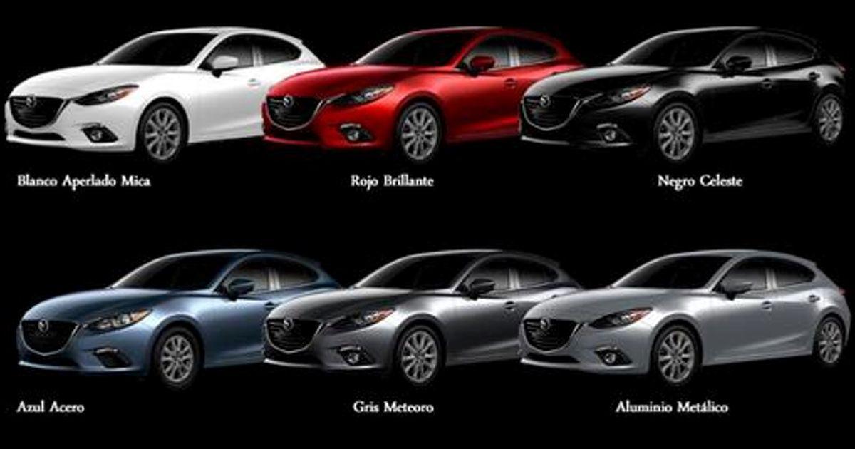 Mazda 3 Car Colors