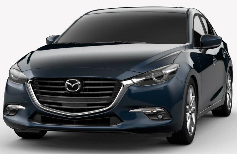 Mazda 3 Deep Crystal Blue Mica