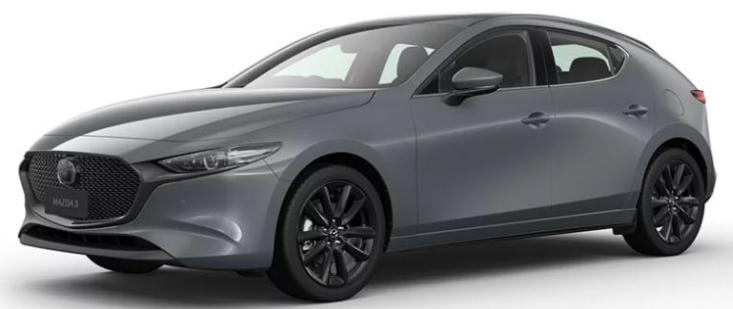 Mazda 3 Poly Metal Grey Metallic