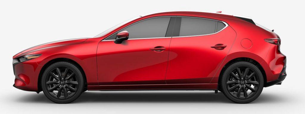Mazda 3 Soul Red Crystal Metallic