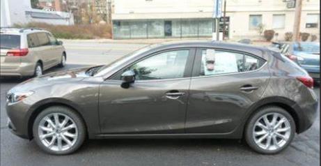 Mazda 3 Titanium Flash Mica