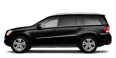 Mercedes GLS Class Obsidian Black metallic