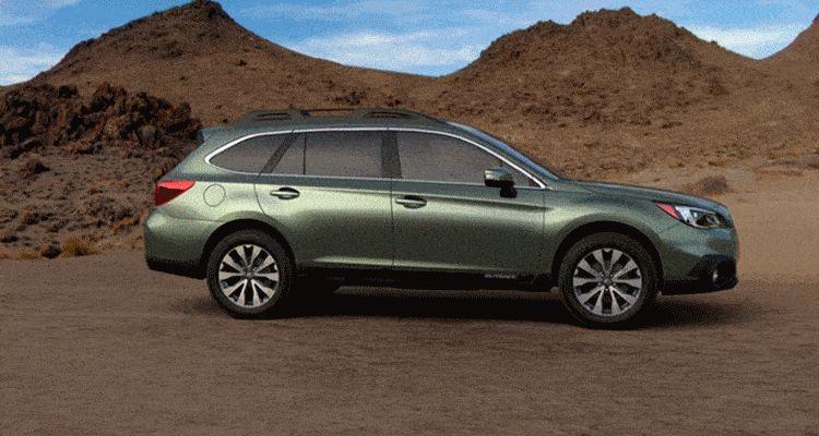 Subaru Outback Wilderness Green Metallic