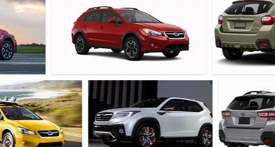 Subaru XV Colors