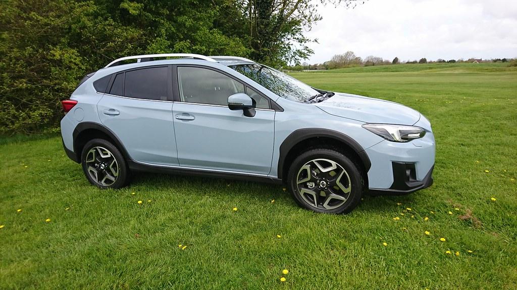 Subaru XV Cool Grey Khaki