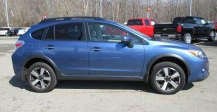 Subaru XV Quartz Blue Pearl