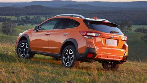 Subaru XV Sunshine Orange