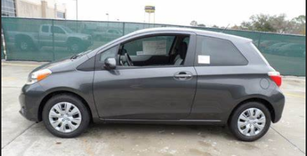 Toyota Yaris Grey Metallic