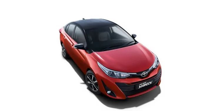 Toyota Yaris Wildfire Red With Attitude Black