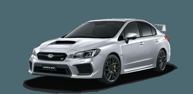 Subaru WRX STI Ice Silver Metallic