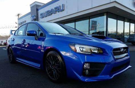 Subaru WRX STI WR Blue Pearl