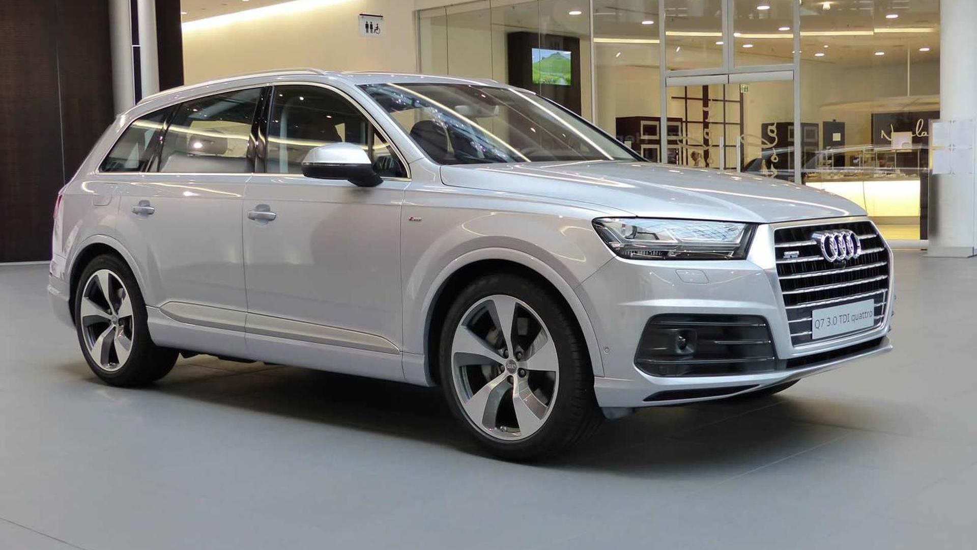 Audi Q7 Florett Silver metallic