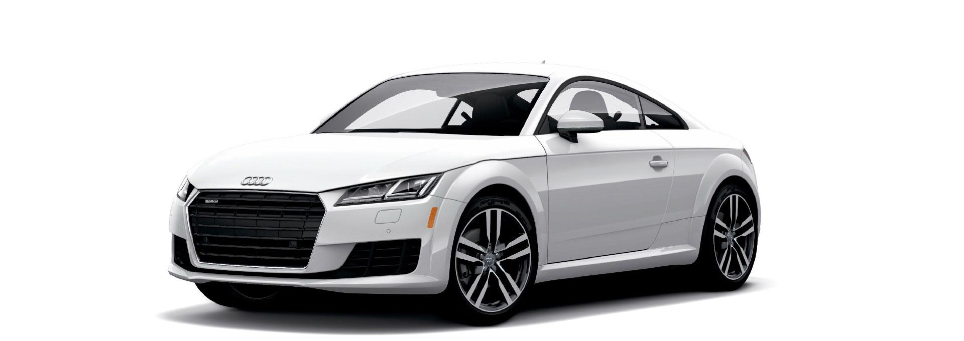 Audi TT Glacier White Metallic