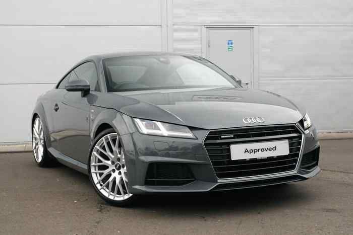 Audi TT Nano Gray metallic