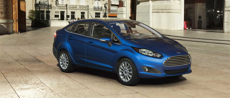 Ford Fiesta Lightning Blue