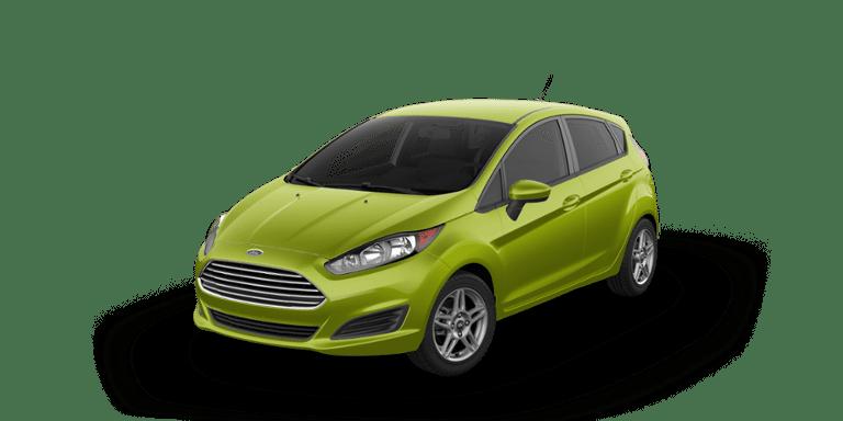 Ford Fiesta Outrageous Green Metallic