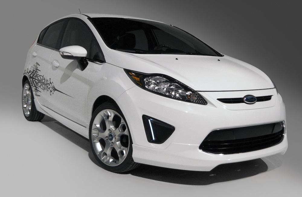 Ford Fiesta Oxford White