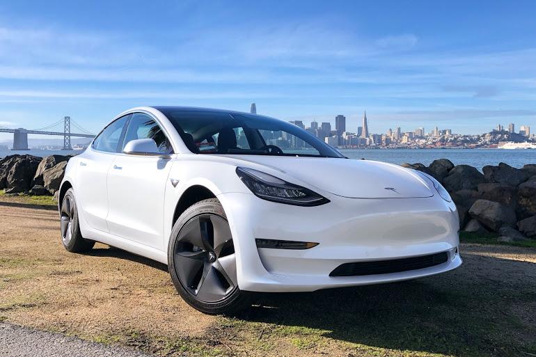 Tesla Model 3 Pearl White Multi-Coat