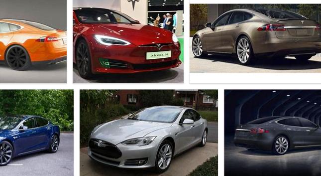 Tesla Model S Color