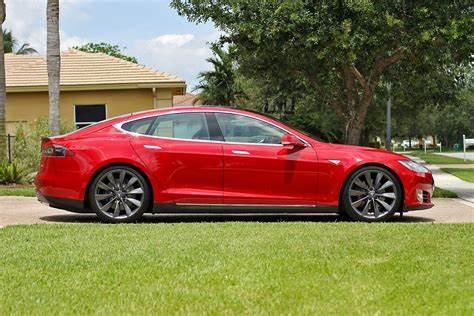 Tesla Model S Red Multi-Coat