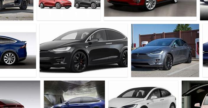 Tesla Model X Colors