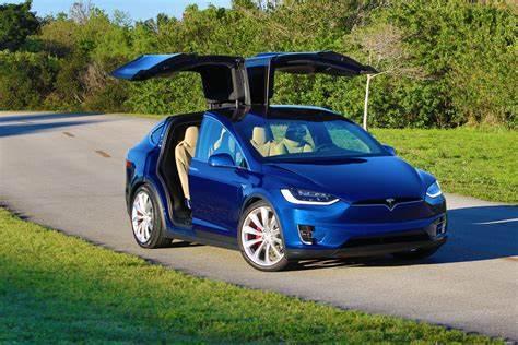 Tesla Model X Deep Blue Metallic