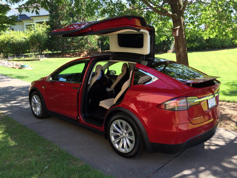 Tesla Model X Red Multi-Coat