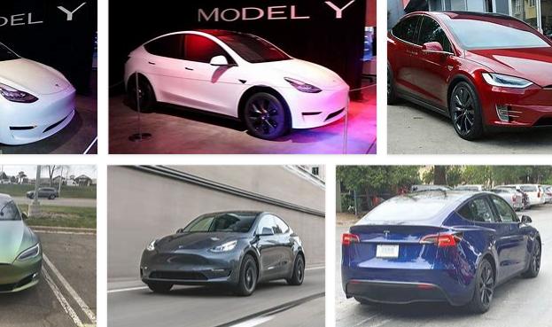 Tesla Model Y Colors