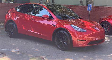 Tesla Model Y Red Multi-Coat