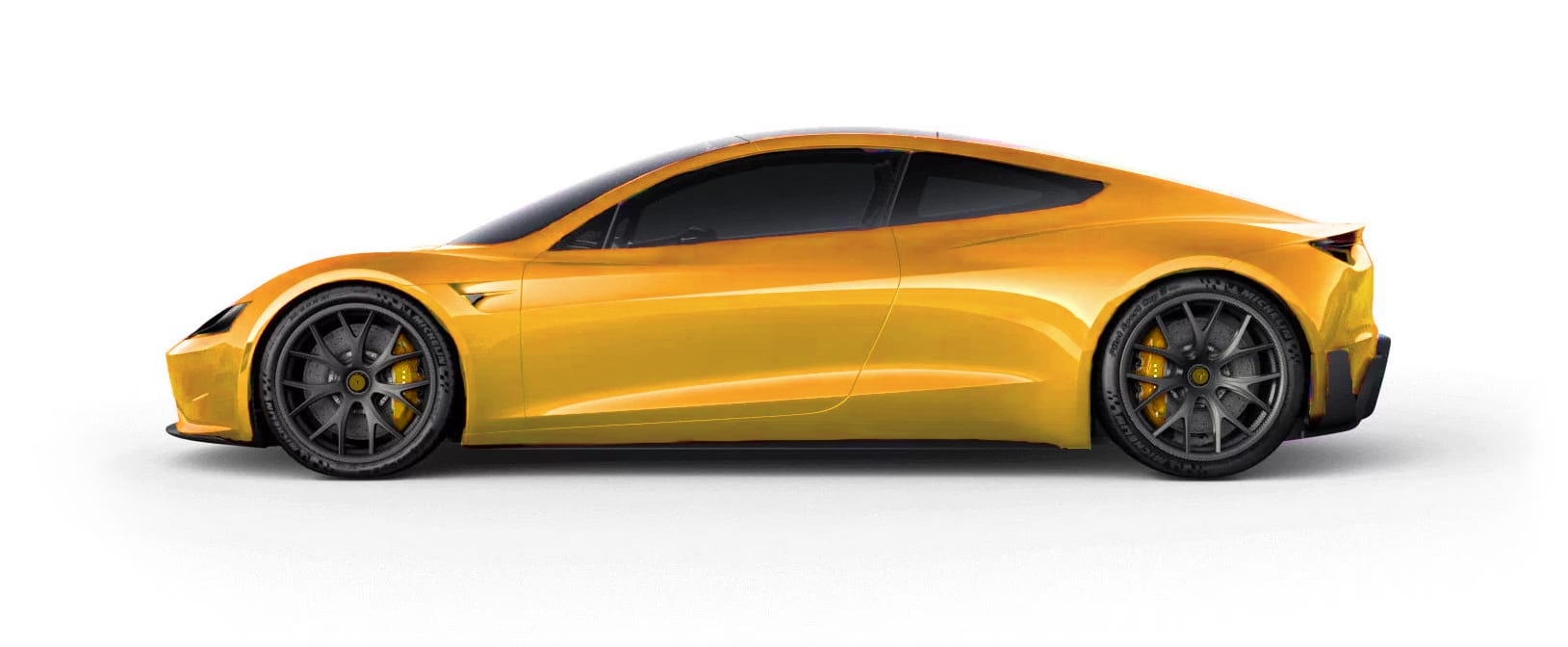 Tesla RoadsterBrilliant Yellow Multi-Coat