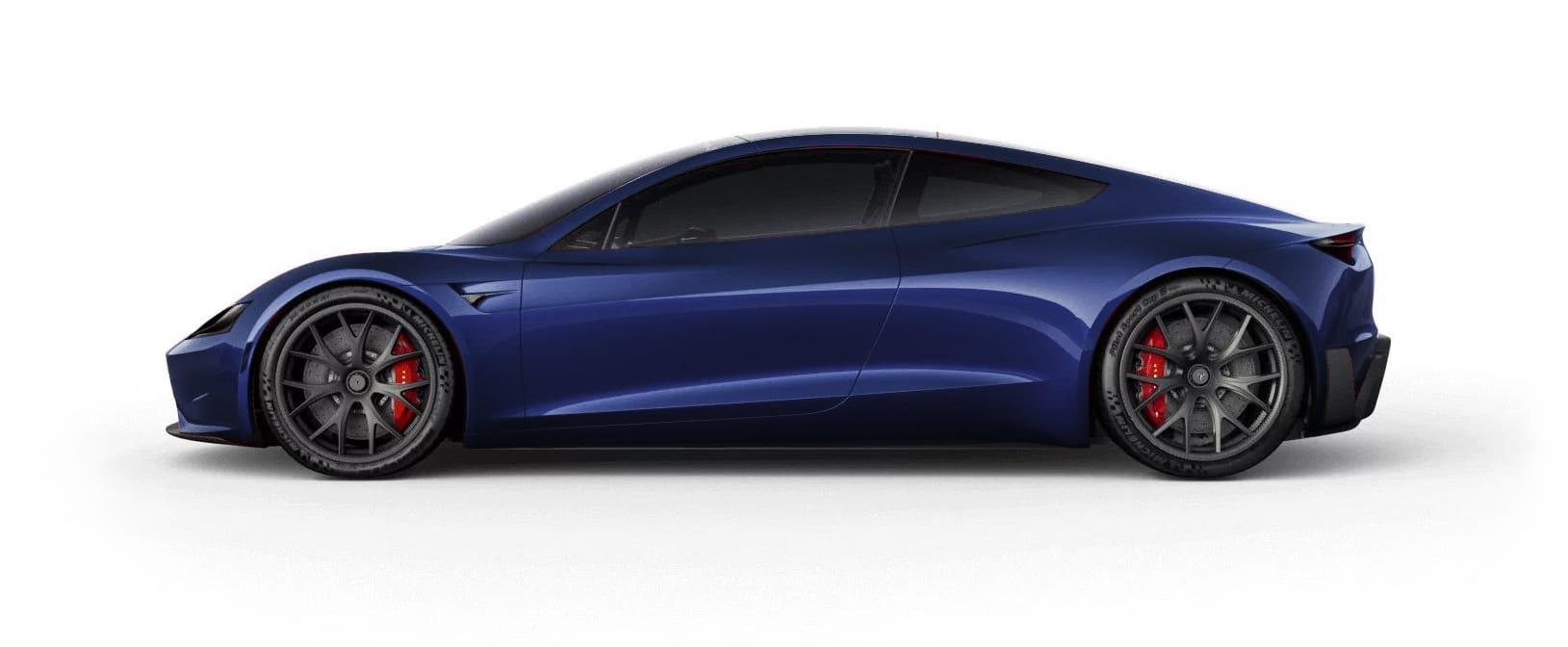 Tesla Roadster Deep Blue Metallic