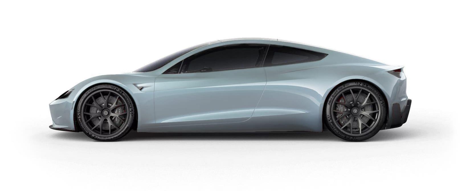 Tesla RoadsterGlacier Blue Multi-Coat