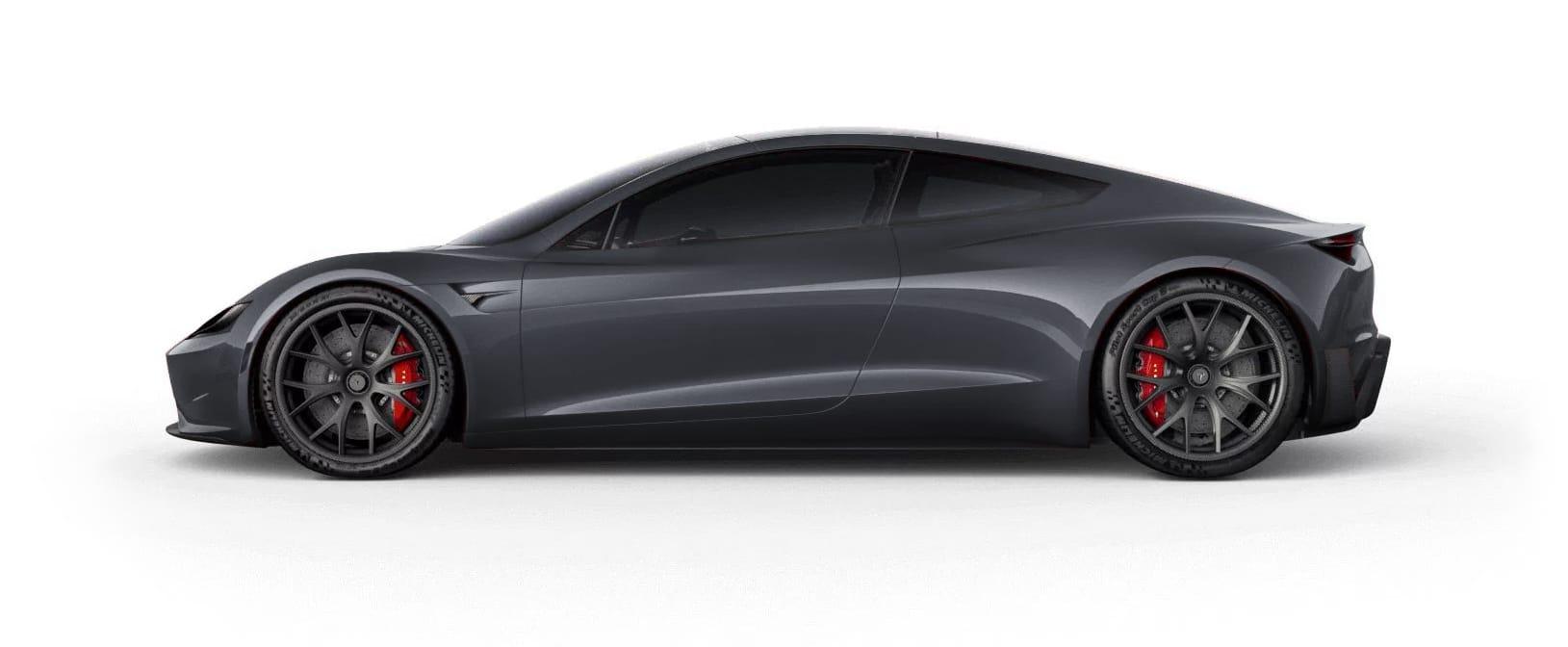 Tesla RoadsterMidnight Silver Metallic